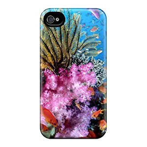 Defender Case For Iphone 4/4s, Coral Reef Pattern