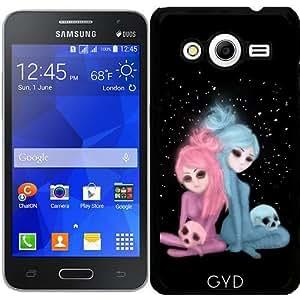 Funda para Samsung Galaxy Core 2 SM-G355 - Intercosmic Navidad by Rouble Rust