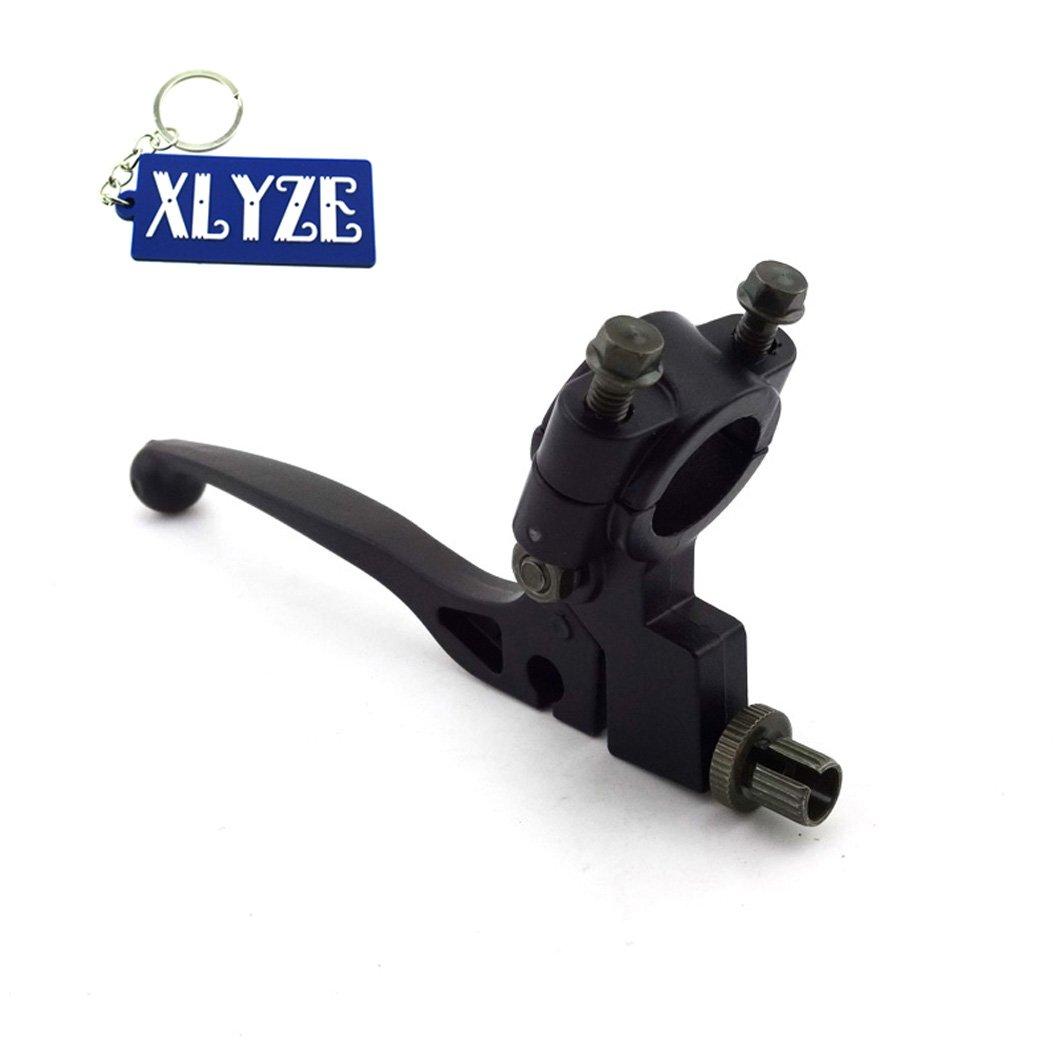 'xlyze 7/8 EMBRAYAGE Levier de cintre de 22 mm pour 50 cc 110 cc 125 cc 140 cc pIT Pro Trail Dirt Bike SSR coolster roketa Apollo Taotao