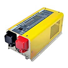 Giosolar 1000W GS100012 Pure Sine Wave Inverter Low Frequency Power Inverter 12V DC to 120V AC