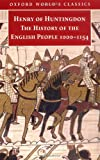 The History of the English People, 1000-1154: Henry of Huntingdon