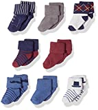 #8: Hudson Baby Infant & Toddler Socks, 8-Pack