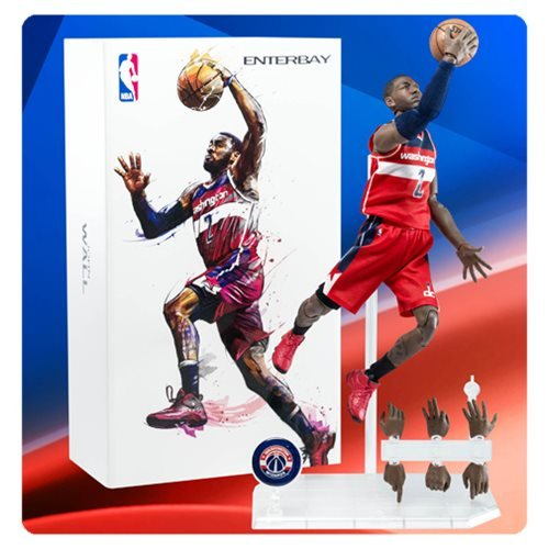 NBA Collection John Wall Motion Masterpiece 1:9 Scale Action Figure