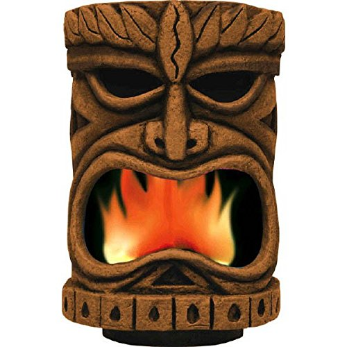 Amscan Flaming Tiki Head Party Decoration