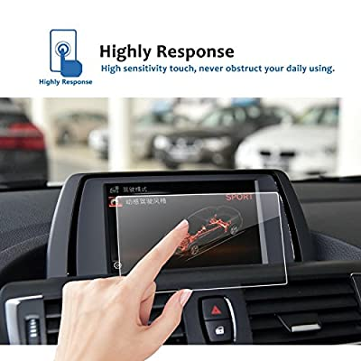 LFOTPP Compatible Tempered Glass Navigation Infotainment Center Touch Screen Protector Replacement for 2014-2020 2 Series 3 Series 4 Series F22 F45 F30 F31 F34 F32 F33 F36 Screen