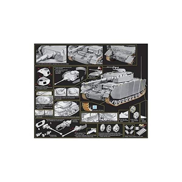 Dragon 1/35 PzKpfw IV Ausf H Late Production Tank w/Zimmerit Kit 2