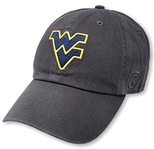 - Top of the World NCAA West Virginia Mountaineers Men's Adjustable Relaxed Fit Charcoal Icon Hat, Charcoal