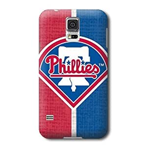 Allan Diy S5 case cover, MLB - Philadelphia Phillies Split - Samsung Galaxy S5 case cover 0dOVZzBLwab - High Quality PC case cover