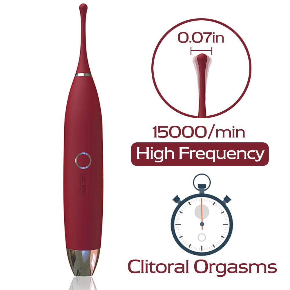 Orlupo High Frequency Small Clit Vibrator G Spot Clitoral Vibrators for Women with Whirling Motion Highly Orgasmic,Personal Wand Stimulator Toys for Women,Adult Sex Toys for Women and Couples