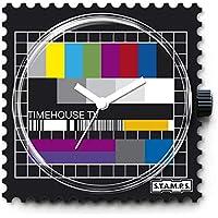 S.T.A.M.P.S. Stamps–Esfera Test Pattern Completo Reloj con Pulsera