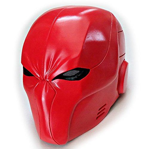 Custom Wearable Halloween Costume Cosplay Movie Prop Mask DJ Gift Batman Arsenal Red Hood Helmet (Batman The Red Hood Costume)