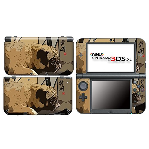 GLOOMY PUG for New Nintendo 3DS XL Skin Vinyl Decal Stickers