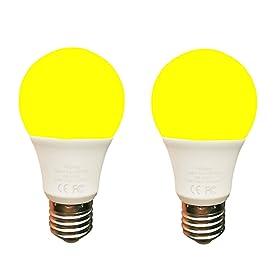 Amber Yellow LED Bug Light Bulb