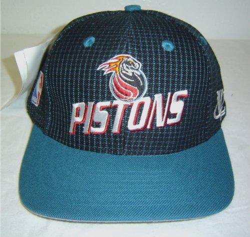 Amazon.com   New! Logo Athletic NBA Detroit Pistons Snapback Cap w ... 72677b79247