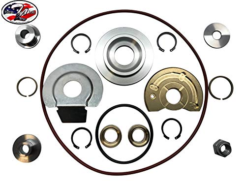 Turbo Lab America Schwitzer Borg Warner S300, S300SX3, S360, S362, S364, S366 Turbo Rebuild Kit 360 Degree ()