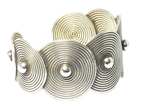Bracelet Jonc en argent sterling 925réglable-Poinçonné-(sbn1102163)