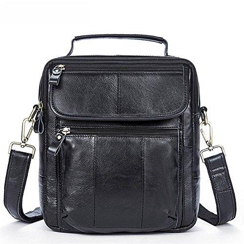 22 Bolso De 5cm Los Del color Negro Hombres 25 Hombres Bolsa Vintage Negocio La Maletín Opcional Casual Gljjqmy Negro Asas El 8 qwft7xZ