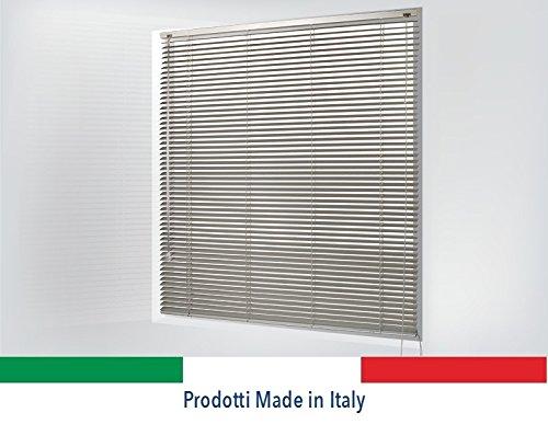 OR TENDE - Tende, Tenda Veneziana in ALLUMINIO da 25 mm Versione Standard, PRODUZIONE SU MISURA, non KIT CINESI di pessima qualità ORTENDE