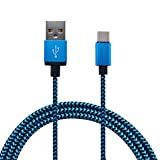 Ancdream USB Type C Cable, Ancdream USB C Cable USB 2.0 3Ft Nylon Braided Fast Charger Cord for Nintendo Switch,Google Pixel,LG G5,G6,V20,V30,Samsung Galaxy Note 8,S8,S8 Plus
