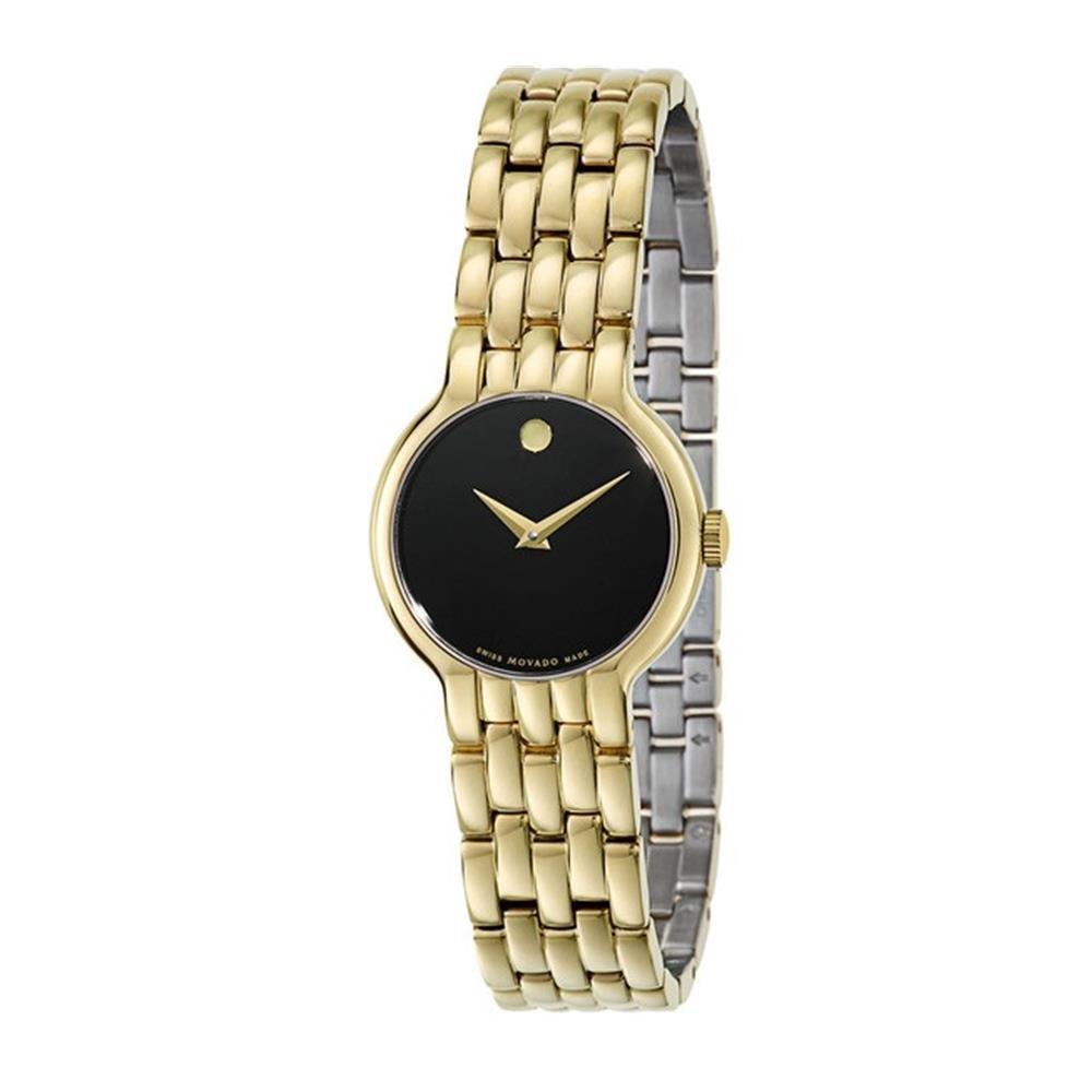 Movado Veturi Goldplated Stainless Steel Ladies Watch 0606935