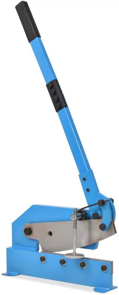 Schnittst/ärke 6 mm Blau 300 mm Handhebelschere Industrie-Handschere f/ür Bleche max