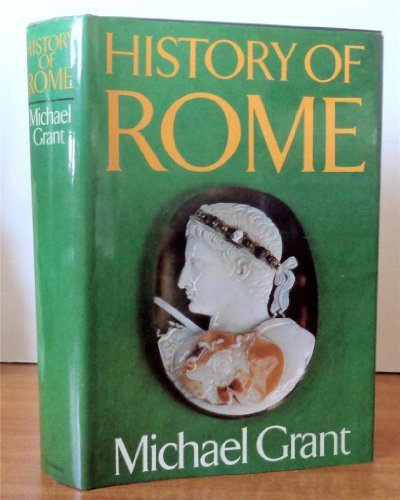 History of Rome by Michael Grant (1978-11-05)