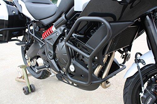 Black T-Rex Racing 2015-2019 Kawasaki VERSYS 650 Engine Guard Crash Cages Bars