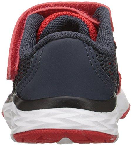 New Balance kv790V6Zapatilla de Running infantil (Infant/Toddler) Rojo/Gris