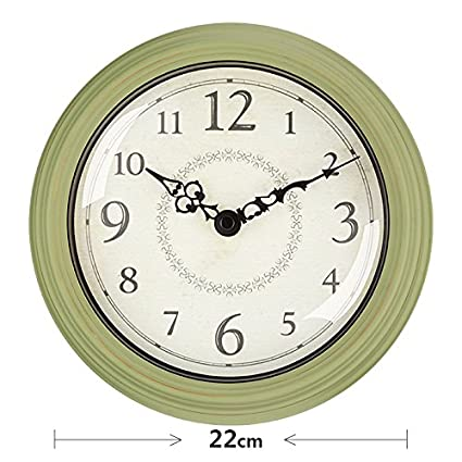 Y-Hui, las habitaciones son acogedoras Relojes de pared en el país europeo Estilo