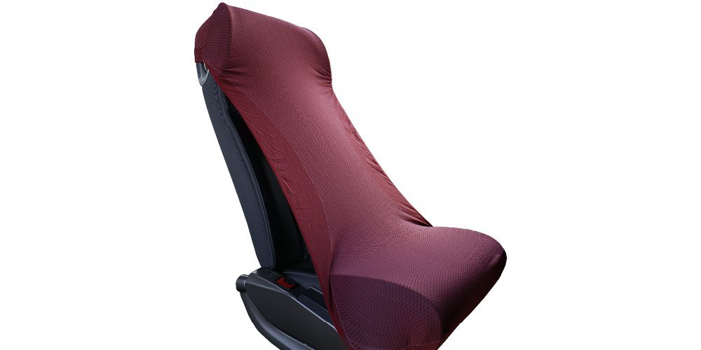 The first Universal seat cover for planes, trains, buses, cinemas or cars MIA srl