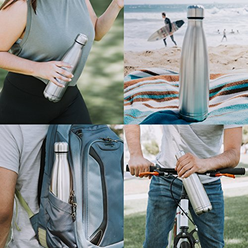 Diversion Water Bottle Can Safe   Stainless Steel Tumbler Safe by Stash-it   Bottom Unscrews to Store Your Valuables! by Stash-it (Image #5)