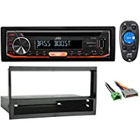 JVC CD Player Receiver USB/AUX/MP3 3-Band Eq+Remote For 1997-1998 Ford F-150