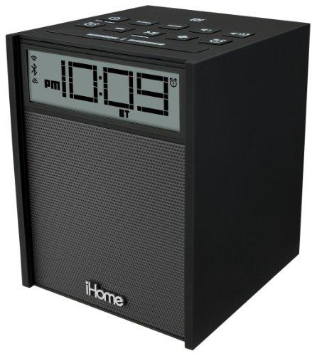 Sound Design iHome IBN180B Rubberized NFC Bluetooth Dual Ala