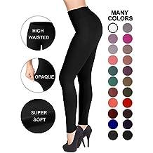 Sejora Satina High Waisted Leggings - 25 Colors - Super Soft Full Length Opaque Slim