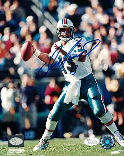 Dan Marino Autographed Miami Dolphins 8x10 Photo - Signed Marino Photograph Dan