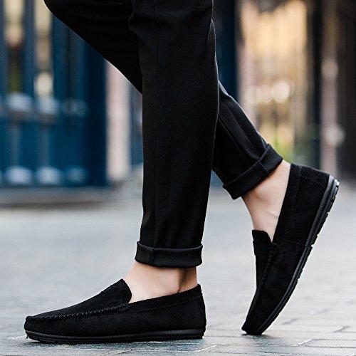 Uomo Sneakers Solid Corsa Ginnastica Driving Casual Scarpe Sportive Nero Antiscivolo Calda Bean Da Comfortable Oyedens Vendita Shoes Rw0TqIw