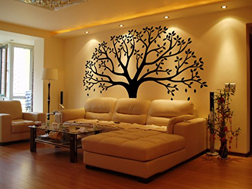 LUCKKYY Large Family Photo Tree Wall Decor Wall Sticker Tree Branch ...