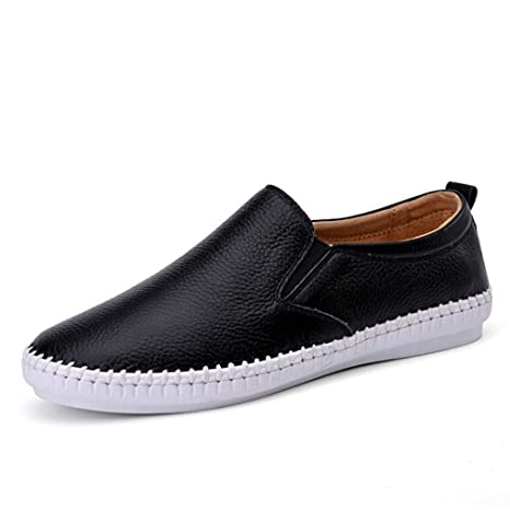 e619164b8621b Amazon.com: August Jim Women Loafers Shoes,Slip On Pointed Toe Flat ...