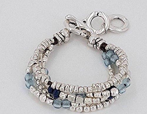 Woman bracelet, pulsera mujer uno de 50 style, pulsera de zamak, pulsera de cuero: Amazon.es: Handmade
