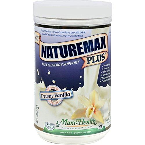 Price comparison product image Maxi Health Naturemax Plus - Soy Protein - Vanilla - 1 Lb.