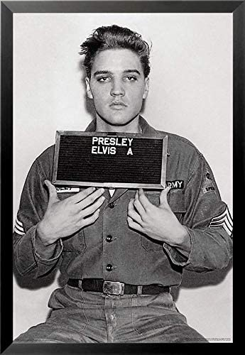 YOUNG ELVIS PRESLEY PHOTO BLACK AND WHITE CANVAS WALL ART PICTURES MUSIC POSTERS
