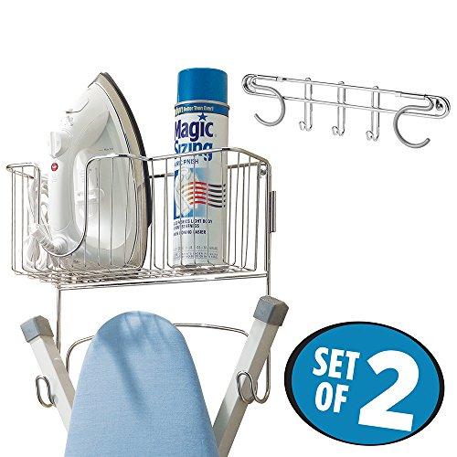 mDesign Ironing Holder Storage Laundry