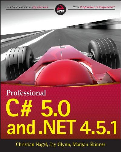 Professional C# 5.0 and .NET 4.5.1 Pdf