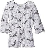 O'Neill Kids Baby Girl's Lana Long Sleeve Romper (Toddler/Little Kids) White 2T (Toddler)