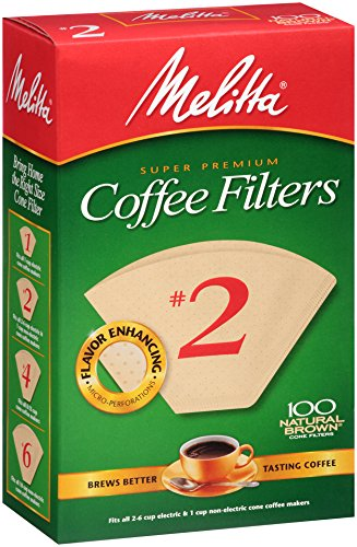 Melitta Coffee Filter Natural Brown product image