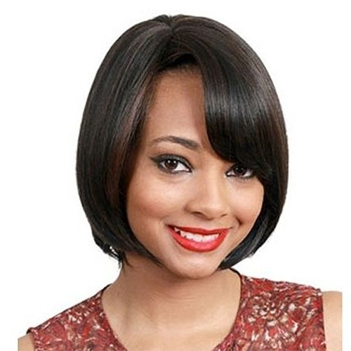 JUNEE FASHION Synthetic Wig - ORION (#1B - Off Black)