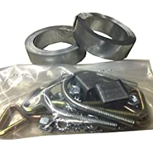 Easy Up Chimney Mount Repair Kit - 36' Galvanized Steel Straps & Hardware Only