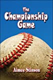 The Championship Game, Aimee Stinson, 1608136450
