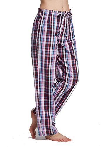 plaid pajama pants - 9