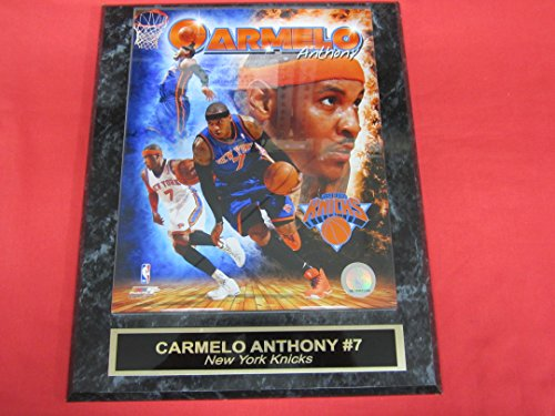 Knicks Carmelo Anthony Engraved Collector Plaque w/8x10 ()